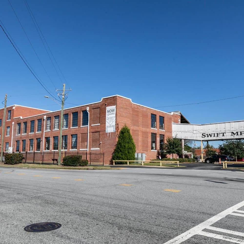 View the site for Lofts at Swift Mill apartments in Columbus, Georgia