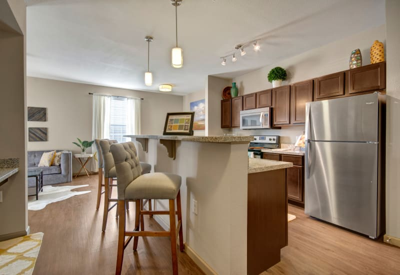 Fabulous spacious kitchen at Creekside South in Wylie, Texas