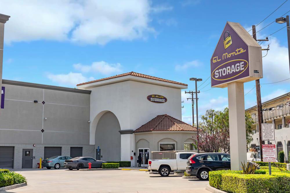 Exterior of El Monte Storage in El Monte, California