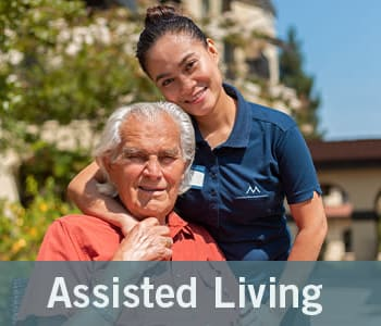 Assisted Living graphic from Merrill Gardens at Wright Park in Tacoma, Washington