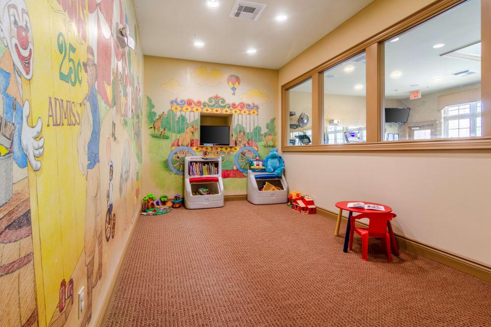 Daycare area at Central Park Estates