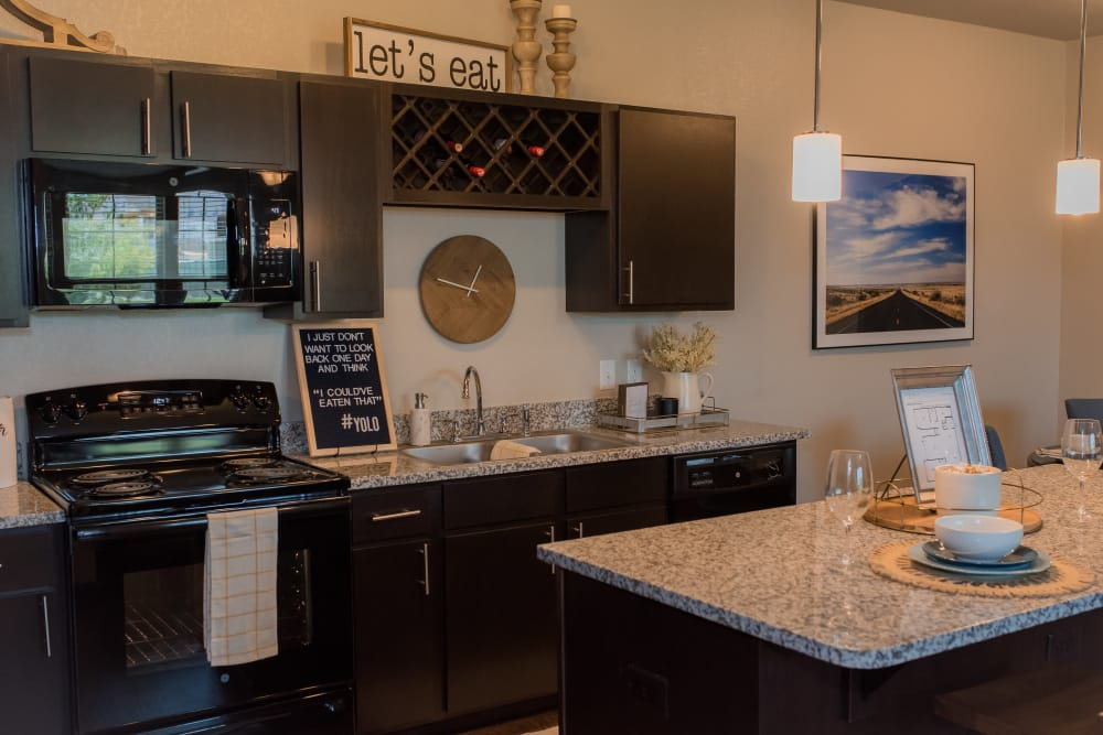Kitchen at Springs at Sunfield