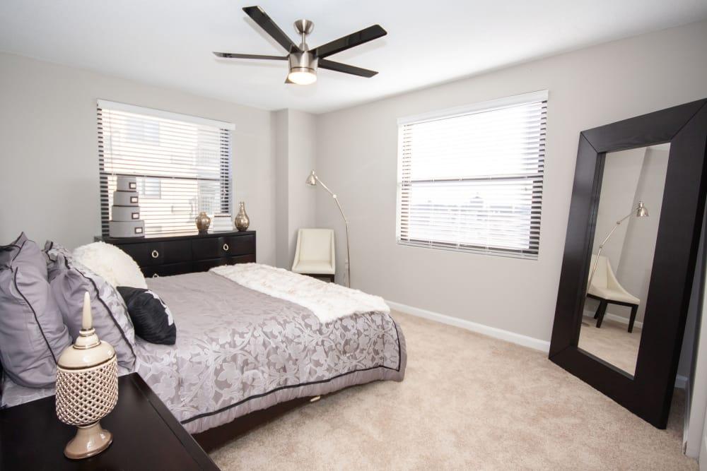Bedroom at The Eva