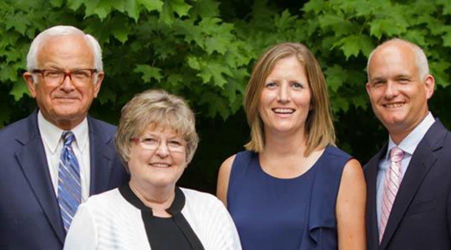Leadership team at Randall Residence