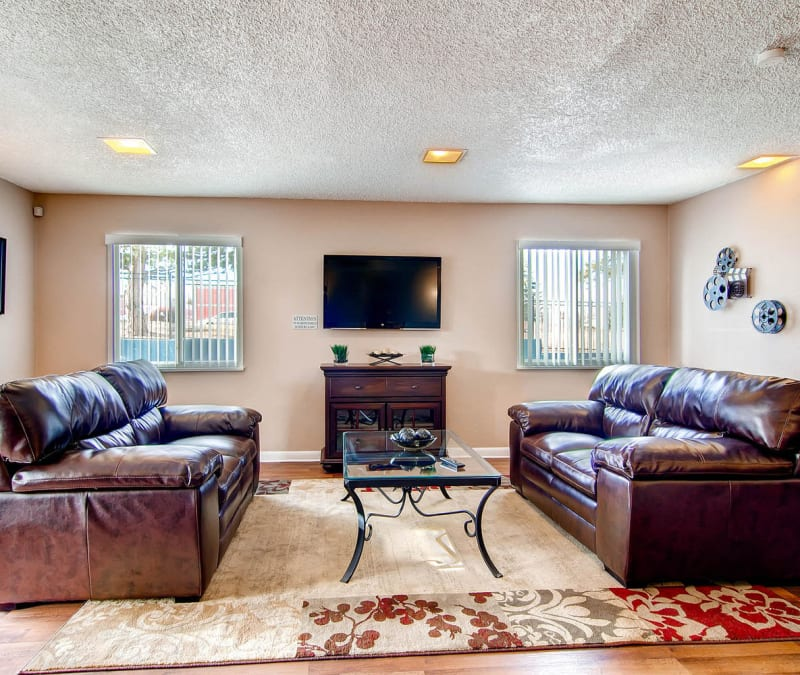 Resident clubhouse at Arvada Green Apartment Homes in Arvada, Colorado