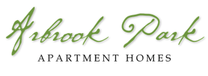 Our logo at Arbrook Park Apartment Homes in Arlington, Texas