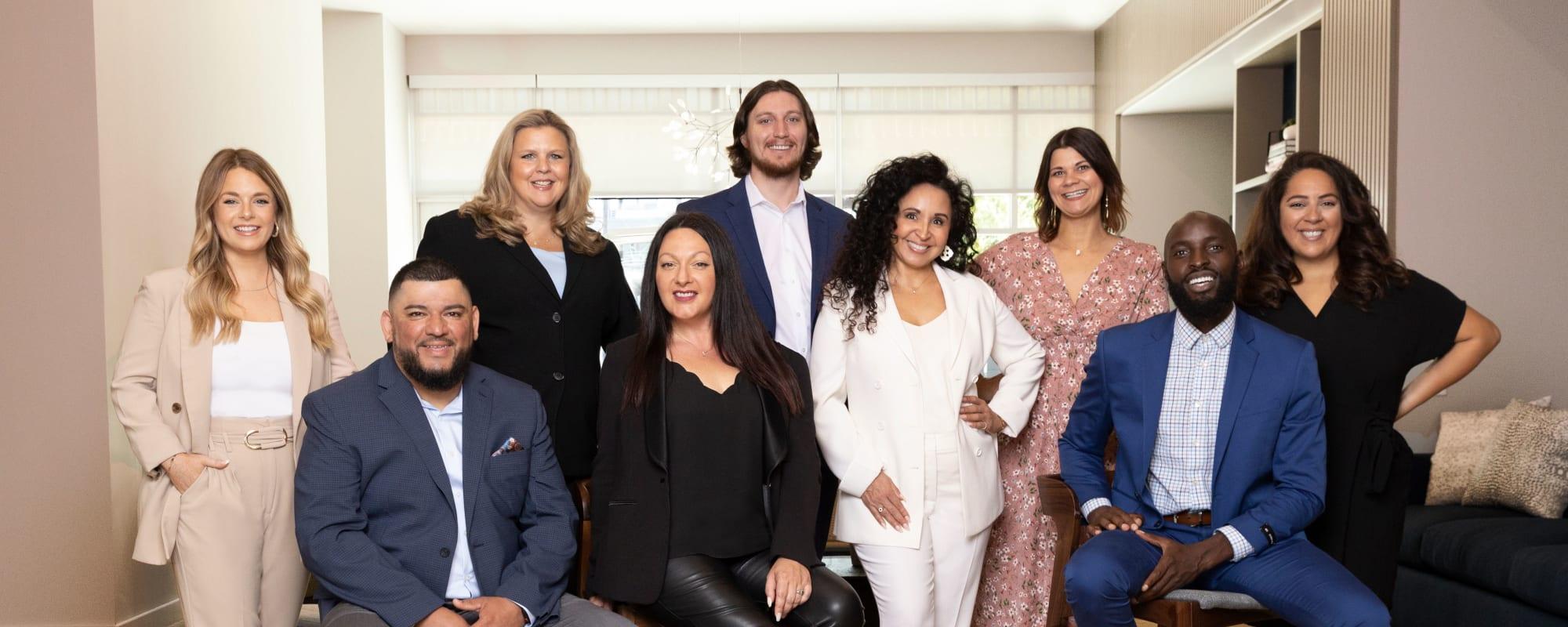 Our team at CREA Management in Austin, Texas