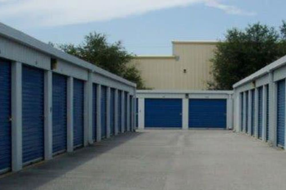 Outdoor units at American Self Storage in Fort Walton Beach, Florida
