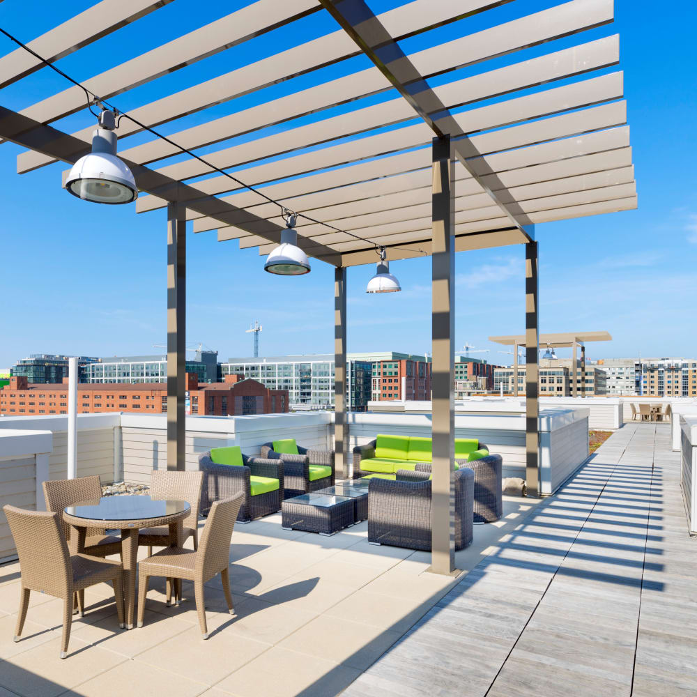 Rooftop lounge at The Bixby in Washington, District of Columbia