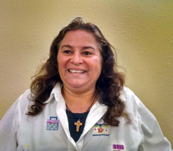 Rosa Padilla, Housekeeping, at Savannah Court of St. Cloud in St. Cloud, FL