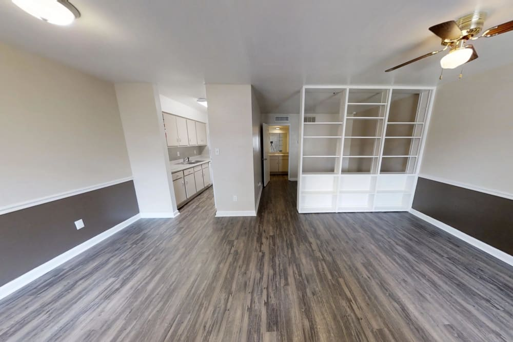 Open floor plans at Falls of Maplewood Apartments in Houston, Texas