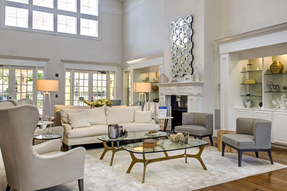 Luxury clubhouse at Provenza at Southwood in Tallahassee, Florida