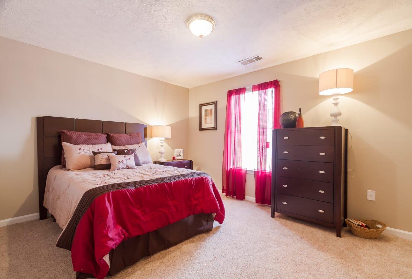 Mount Olive Townhomes master bedroom