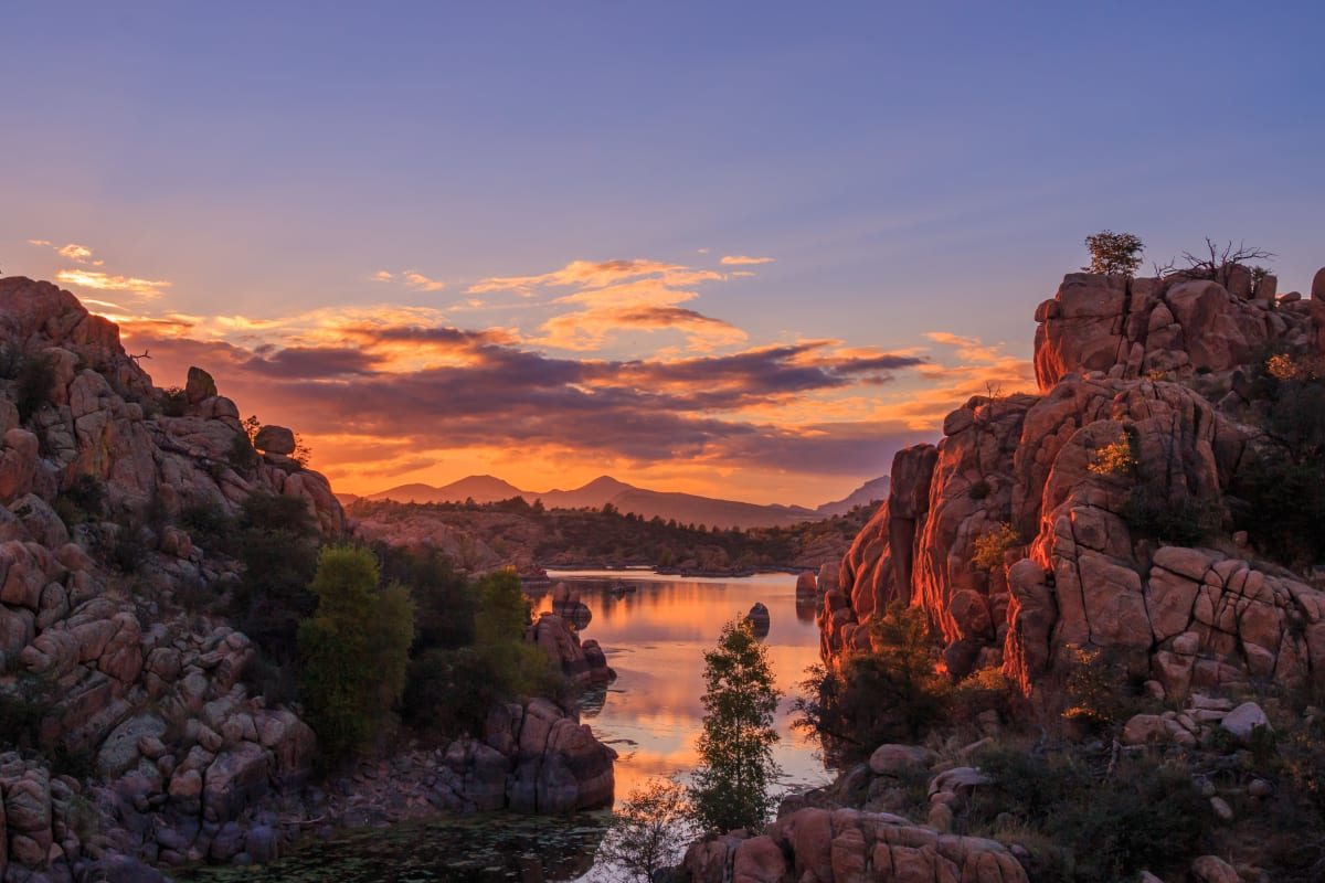 Landscape near Ativo Senior Living of Prescott Valley in Prescott Valley, Arizona.