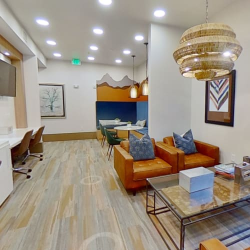 View virtual tour for Business Center floor plan at The Alcott in Denver, Colorado