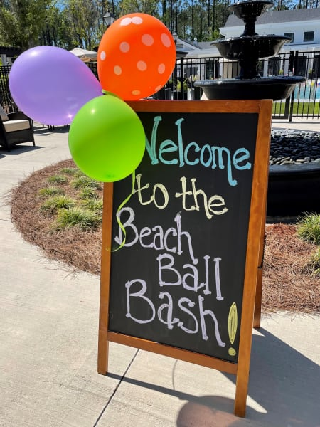 Welcome to the Beach Ball Bash!