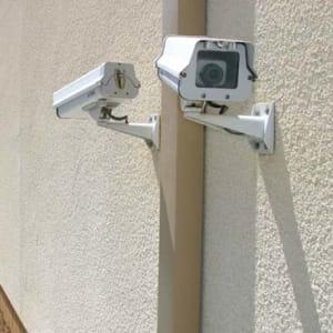 Digital surveillance security cameras at Vista, California at A-1 Self Storage