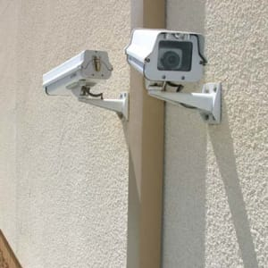 Digital surveillance security cameras at Chula Vista, California at A-1 Self Storage