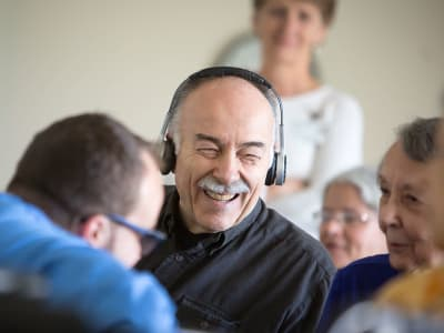 SoundBridge is bridging the gap of social isolation at Wheatfields Senior Living Community