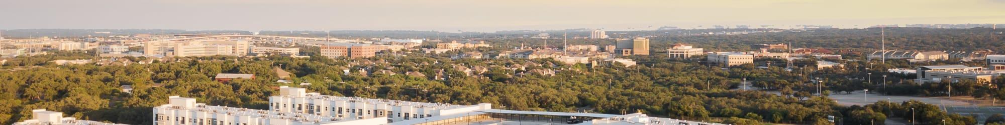 Neighborhood near The Abbey at Sonterra in San Antonio, Texas