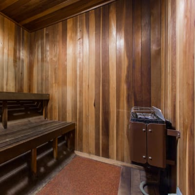 Dry sauna at The Landmark Apartment Homes in Sunnyvale, California