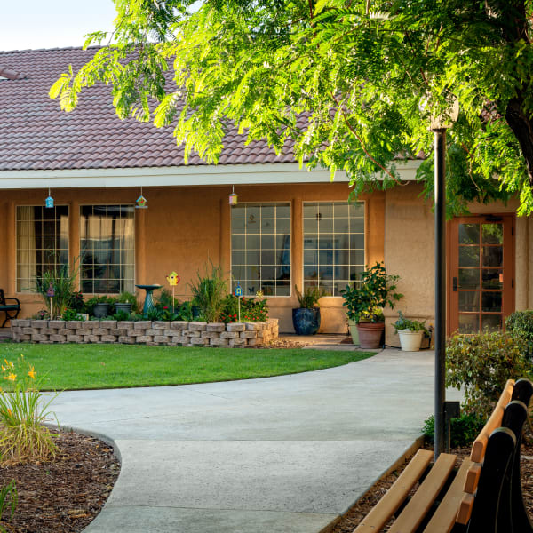 A community building at Pacifica Senior Living Fresno in Fresno, California.