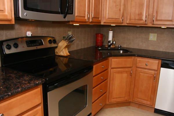 Kitchen model at Brandywyne East II