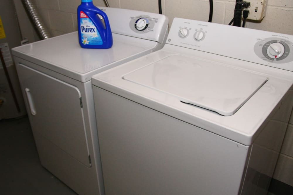 A washer and dryer set is one of the best amenities at Brandywyne at Brielle