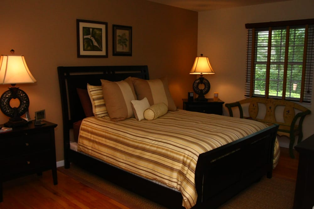 A master bedroom layout Brandywyne at Brielle