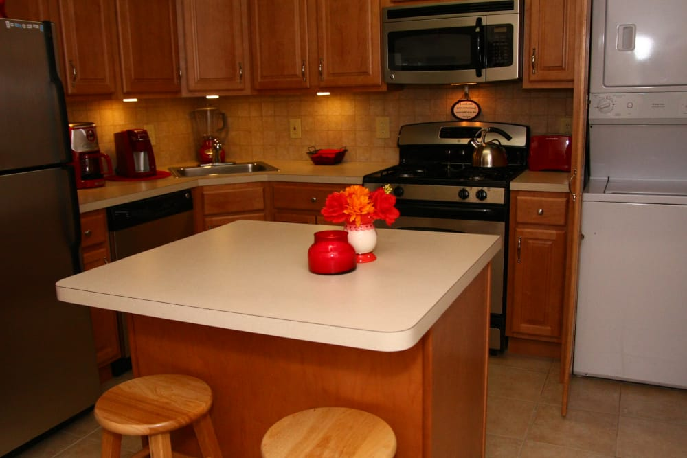 Alternative kitchen layout at Center Grove Village