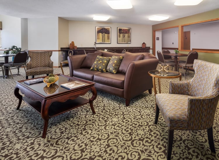 The clubhouse at Parkside of Livonia in Livonia, Michigan