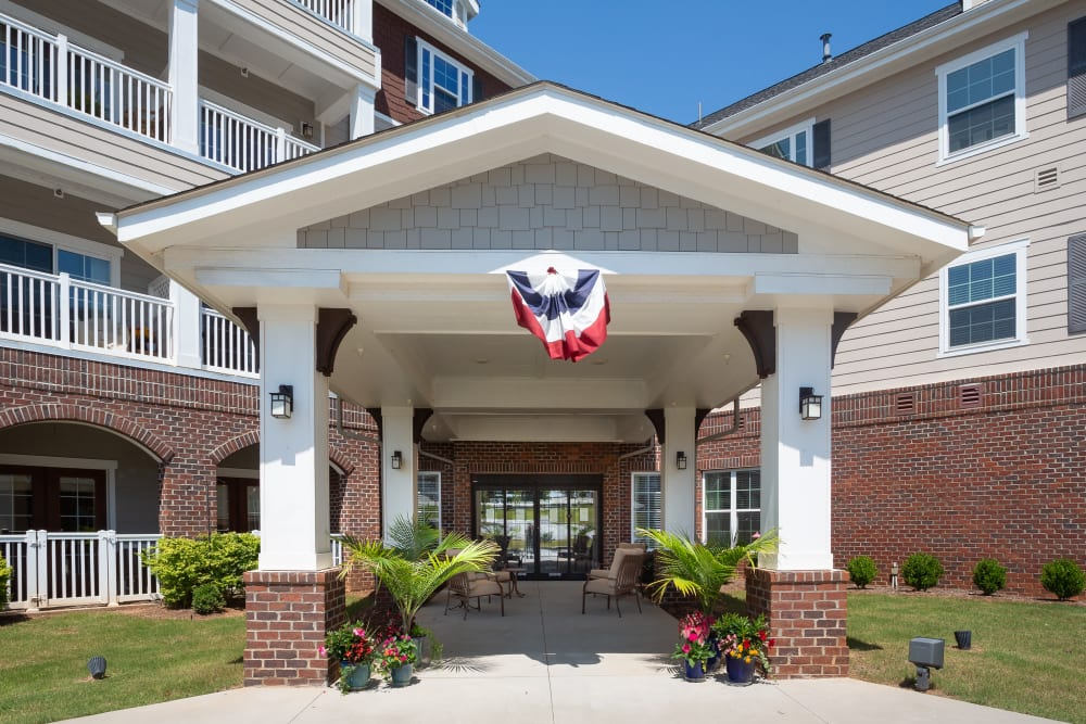Entrance at Harmony at Five Forks in Simpsonville, South Carolina