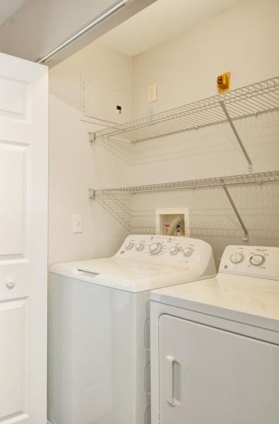 In-unit washer and dryer at Bradlee Danvers in Danvers, Massachusetts