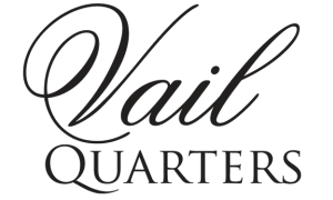 Our logo at Vail Quarters in Dallas, Texas