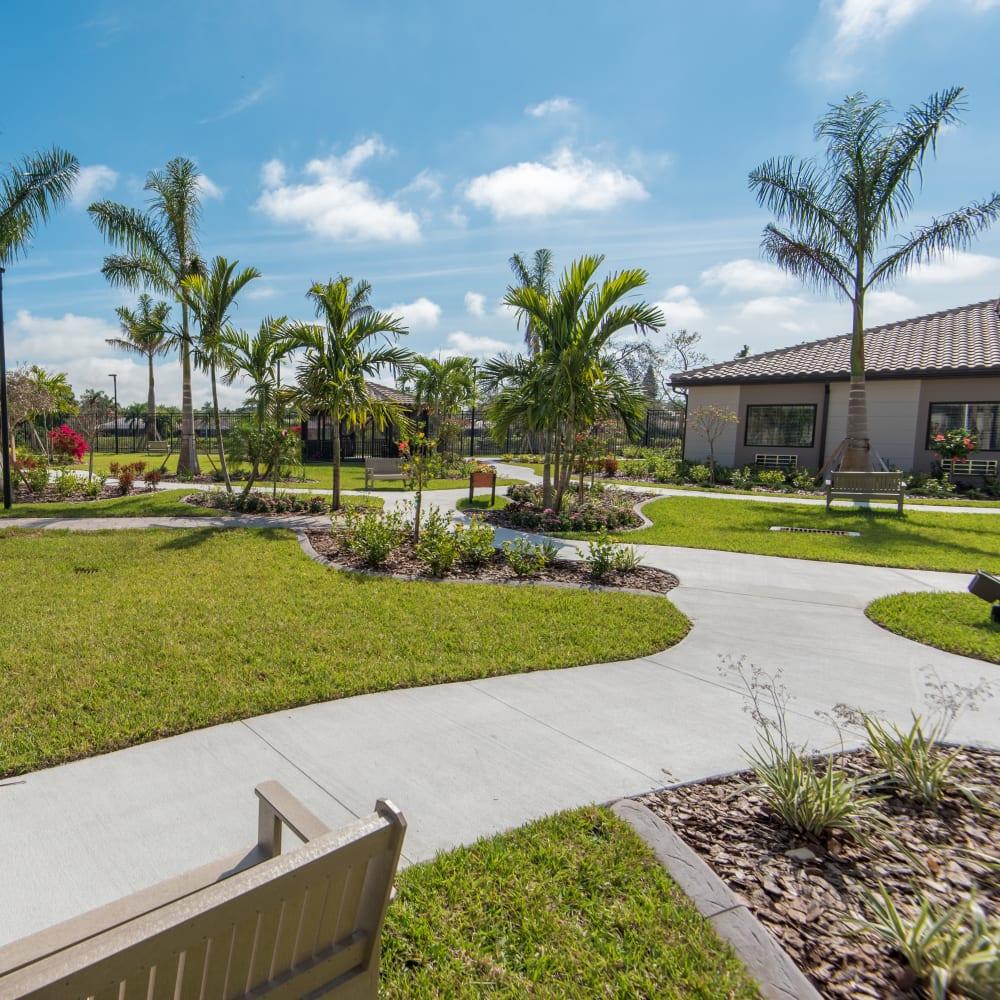 View our services and amenities at Inspired Living Bonita Springs in Bonita Springs, Florida