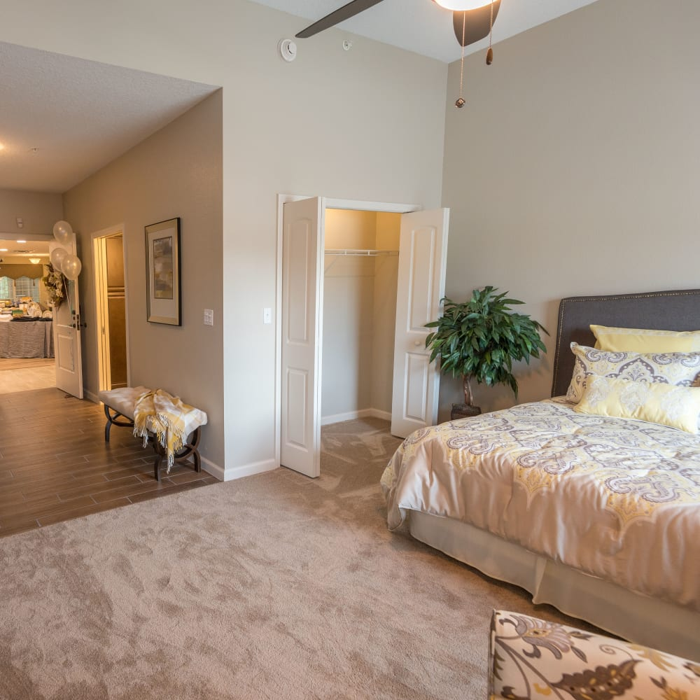 Spacious floor plans at Inspired Living Sugar Land in Sugar Land, Texas