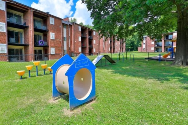 Dog Park at Taylor Park Apartment Homes in Nottingham, MD