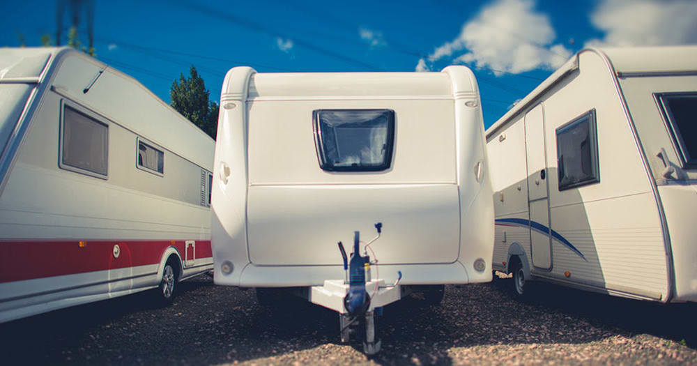 RV storage at Midgard Self Storage in Murfreesboro, Tennessee