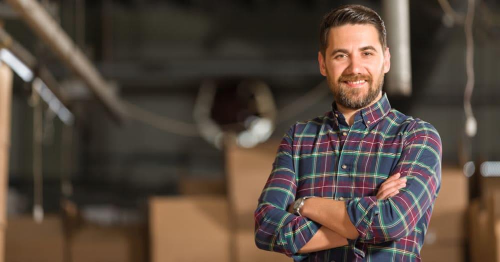 Man storing his belongings at Midgard Self Storage in Murfreesboro, Tennessee