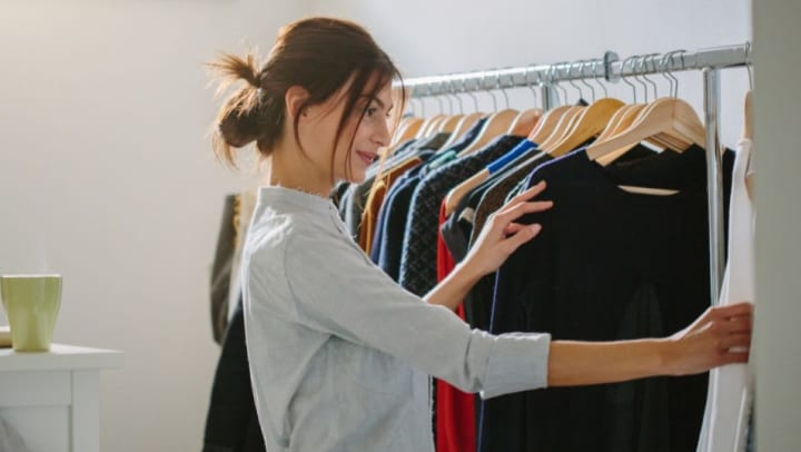 storing your summer clothes for winter