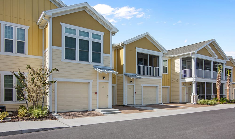 attached garages at Springs at Tapestry in Kissimmee, FL
