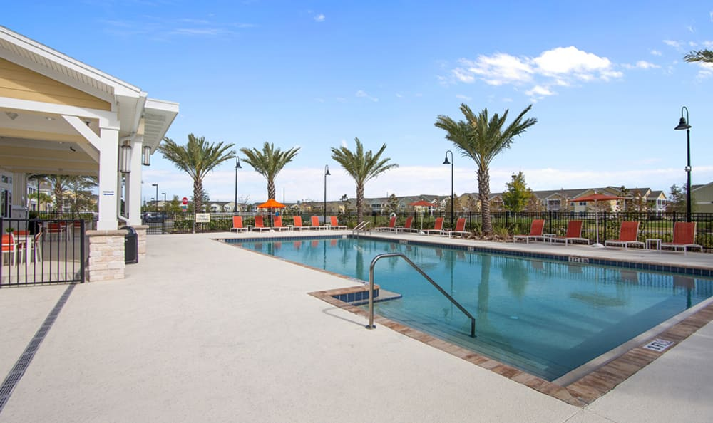 resort style pool at Springs at Tapestry in Kissimmee, FL