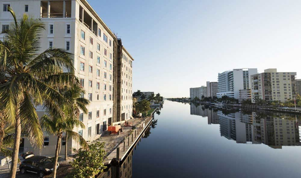 Views of The Meridian at Waterways, in Fort Lauderdale, Florida