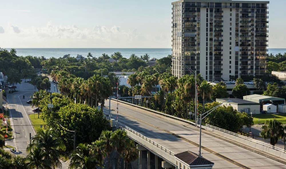 Street views from The Meridian at Waterways, in Fort Lauderdale, Florida