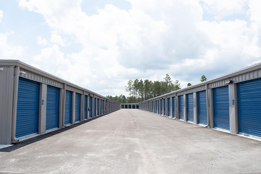 Outdoor units at Atlantic Self Storage in Jacksonville, Florida
