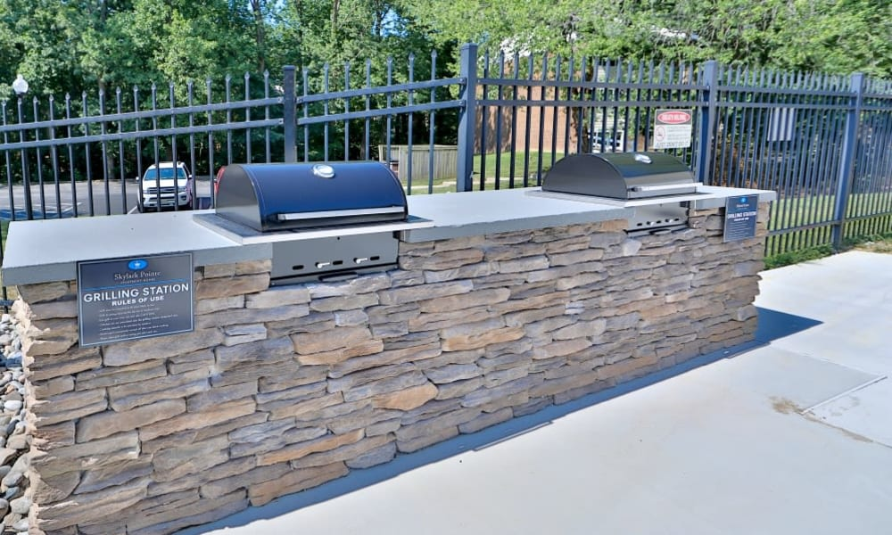 Outdoor Grill in Parkville, Maryland