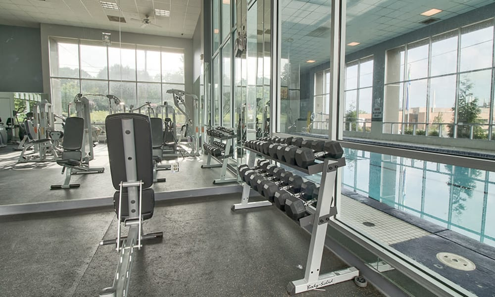 Lakeshore Drive offers a state-of-the-art fitness center in Cincinnati, Ohio