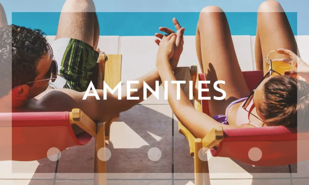 amenities at Parcside