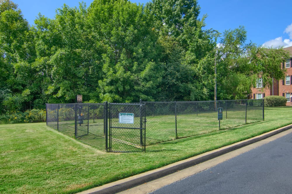 Dog park at Annandale Gardens in Olive Branch, Mississippi