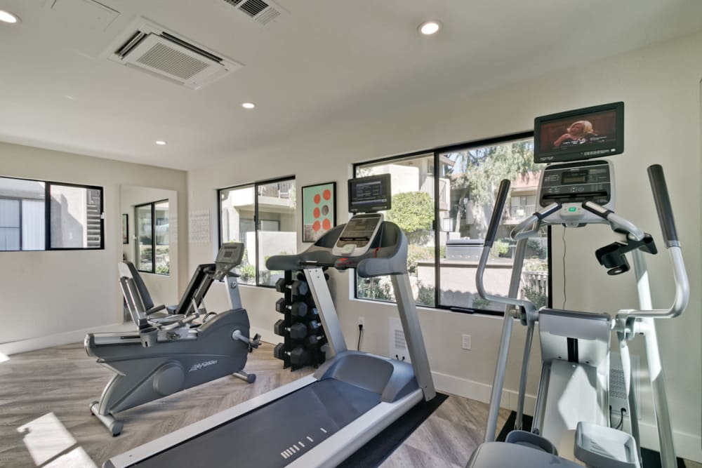 Fitness Center at Terra Willow Glen in San Jose